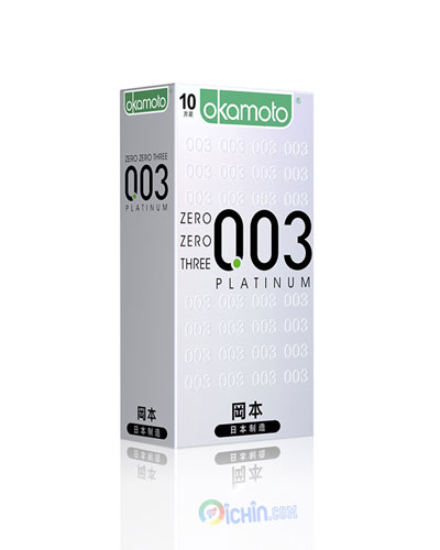 Okamoto Platinum 0,03 hộp 10 cái