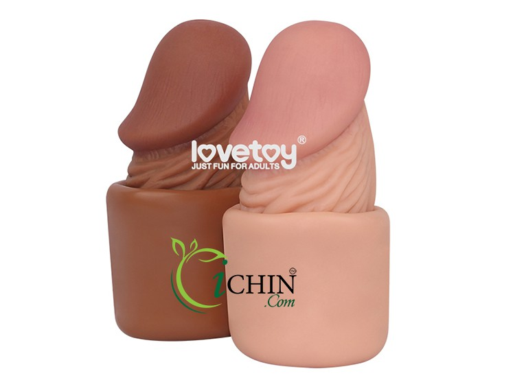 Bao cao su Silicone Lovetoy Pleasure X-Tender